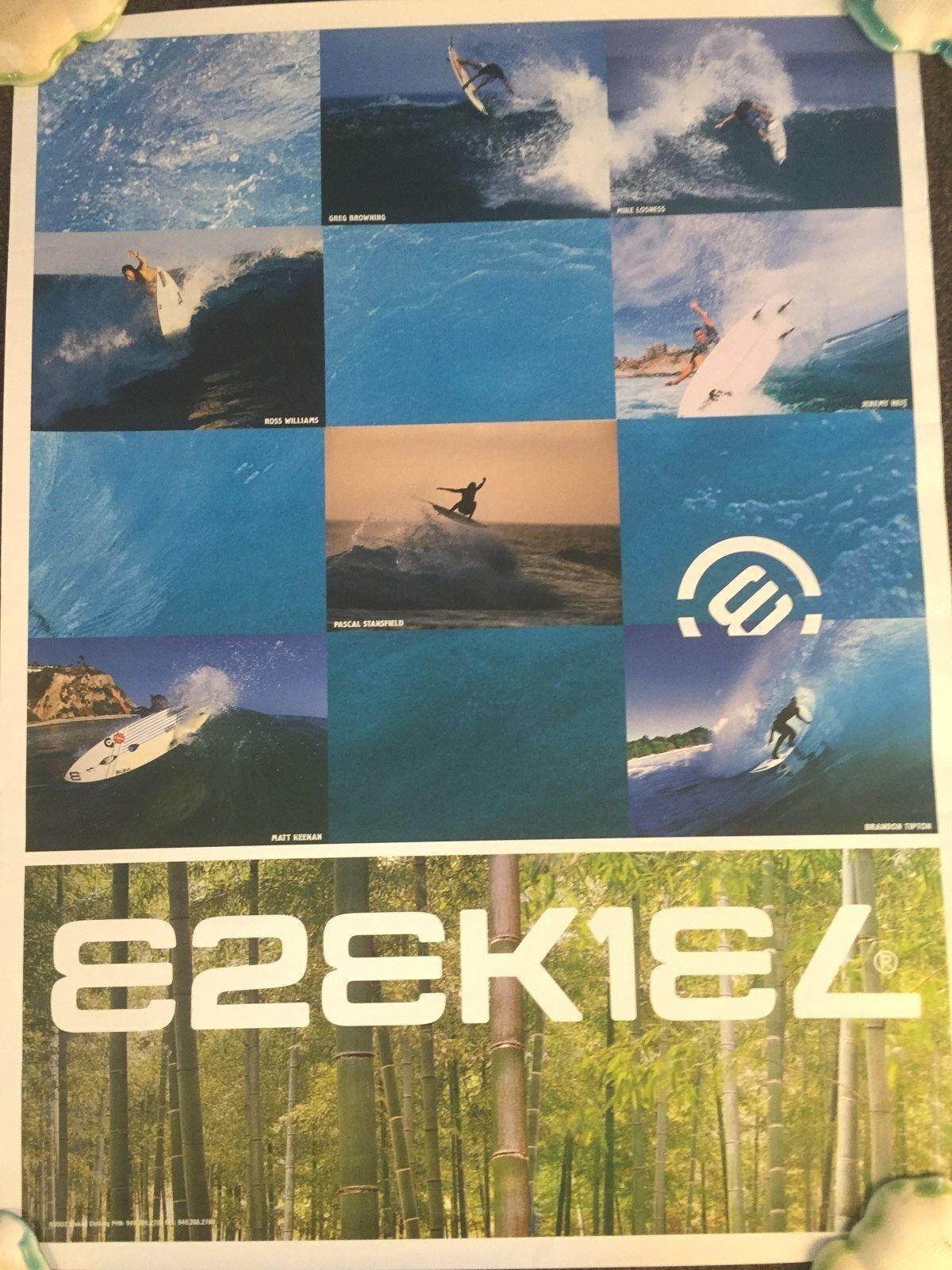 Ezequiel 2003 Surf Foto Poster marróning Losness Williams Heit Stansfield Keenan