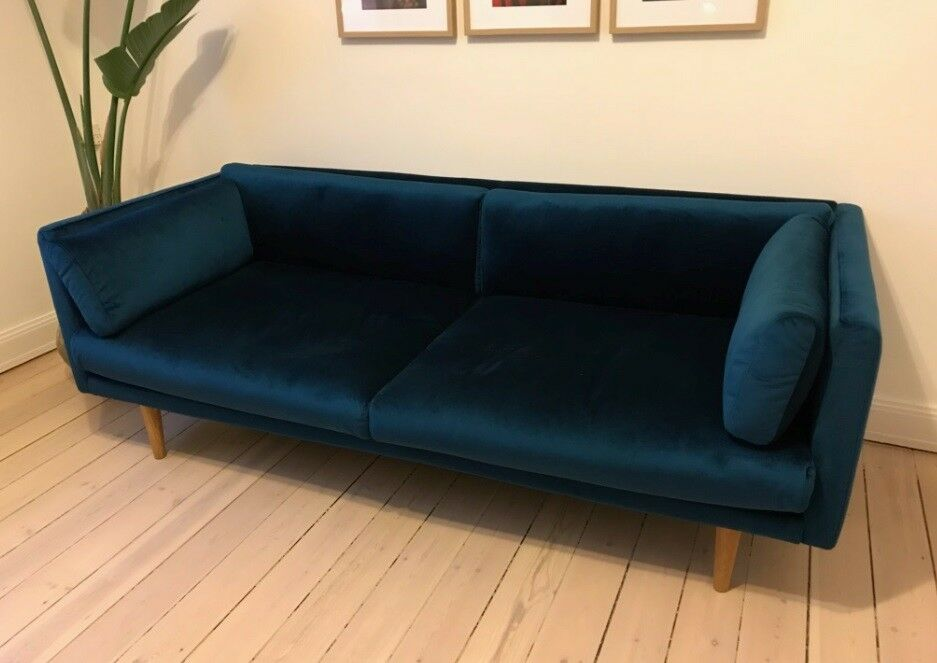 Velour Sofa velour sofa banquette base sofa with silver velour slip cover with