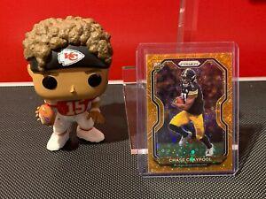 2020 Panini Prizm Chase Claypool Rookie Orange Disco Prizm #392 Steelers!