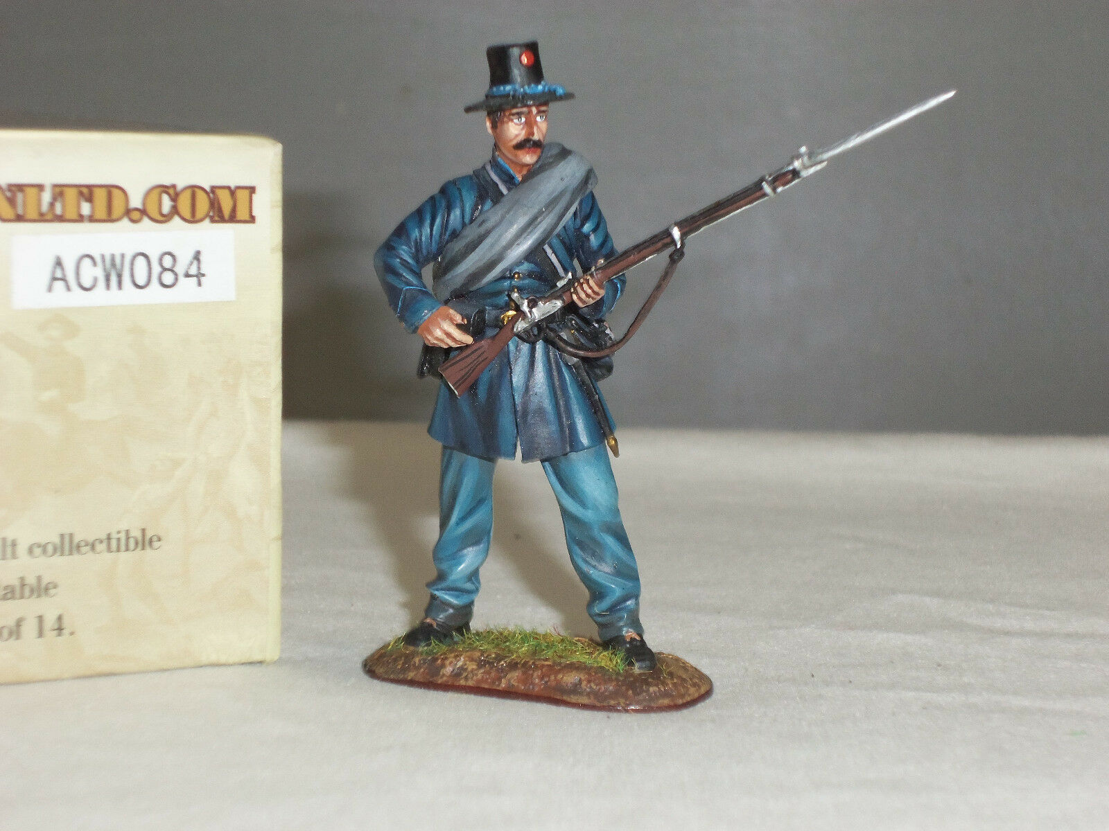 FIRST LEGION ACW084 IRON BRIGADE 2ND WISCONSIN VOLUNTEERS STANDING LOADING