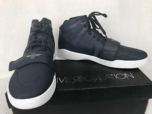 Recreation White Navy Men's Fashion Hi Shoes Creative Sole Manzo Pxd47PZq