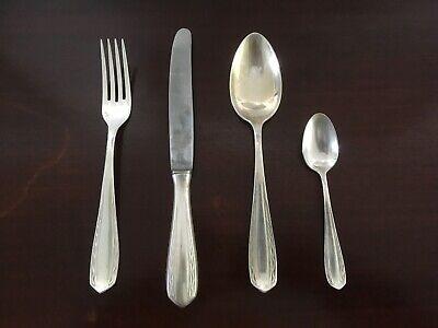 Essbesteck, 90er Silber, 24 Teilig, 6 Personen, Ddr, Vintage
