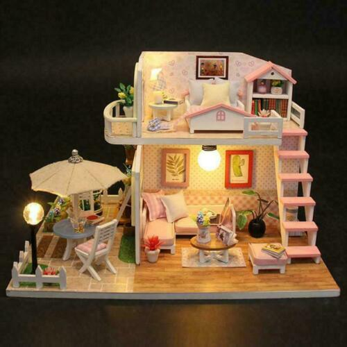 NEW FOR LOL SURPRISE DOLL HOUSE Made with REAL WOOD Children gifts Xmas Gift