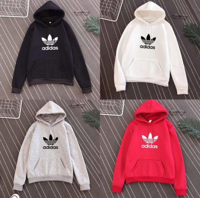 Sweat Adidas Sport homme ou femme noir, blanc, rouge ou gris