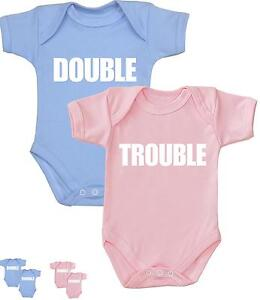 Babyprem Twins Baby Clothing Clothes Double Trouble