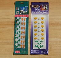 Easter Wax Candle Stickers Candle Magic Design Decorations