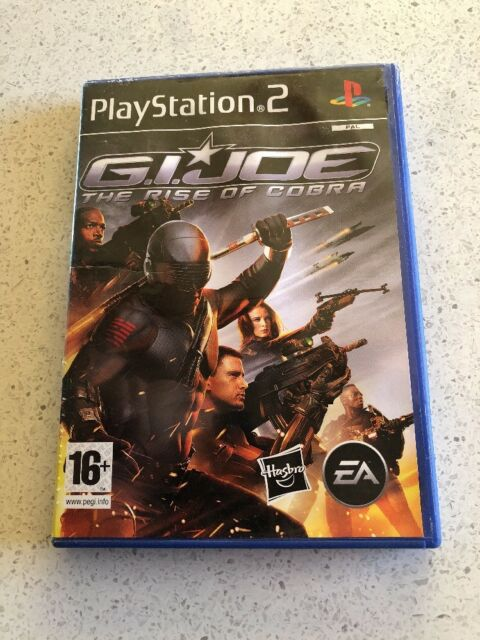 PS2 G.I. Joe-The Rise Of Cobra Pal Includes Manual Free Postage