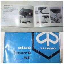 Libretto Istruzioni motorino Ciao e Bravo