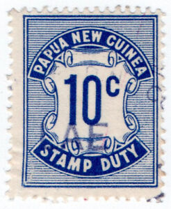 I-B-Papua-Revenue-Stamp-Duty-10c