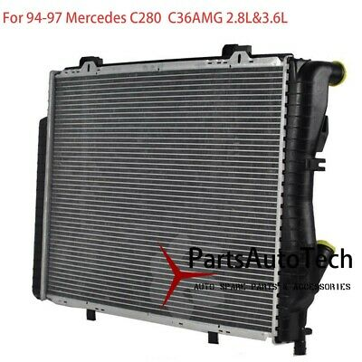 Radiator For Mercedes Benz W202 C280 C36 AMG 2.8 3.6 L6 2025004103 Auto Trans