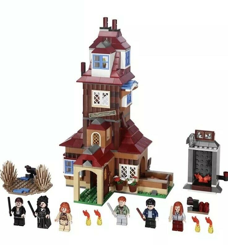 Lego Harry Potter La madriguera 4840