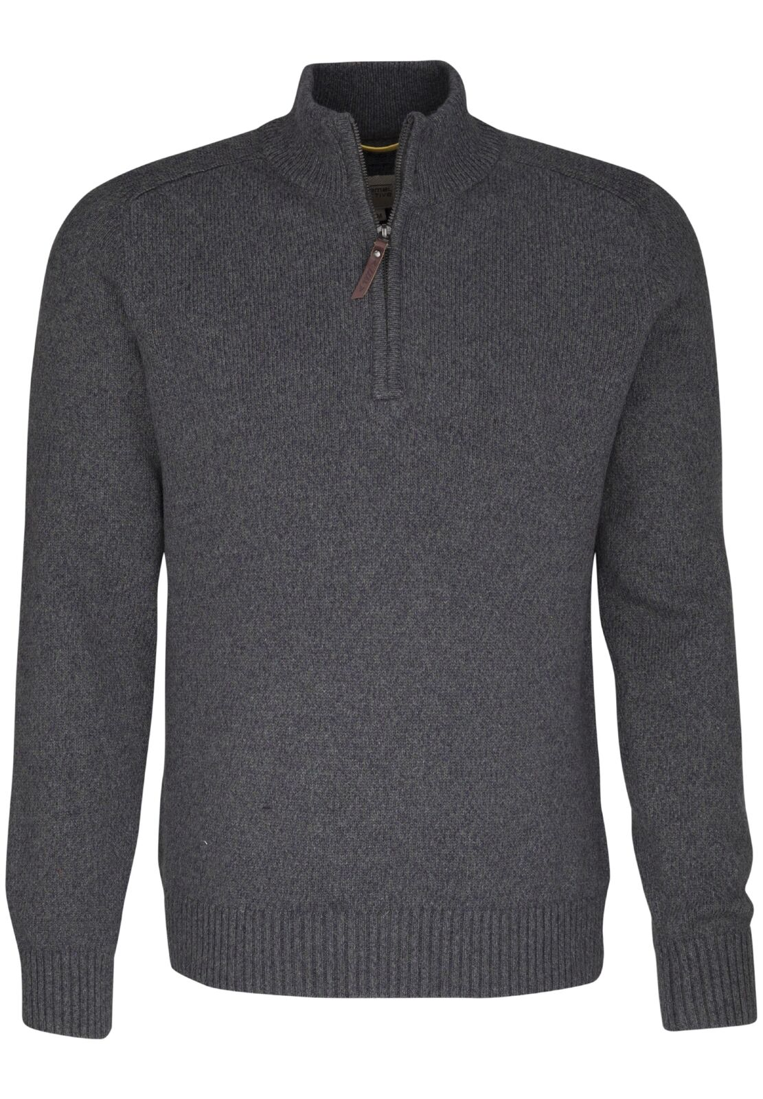 CAMEL Active Uomo Stand-Up Pullover, verde, 444533 71, 71, 71, NUOVO b6e5d2