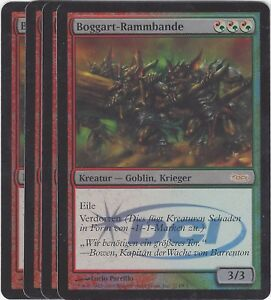 TCG-42-MtG-Magic-the-Gathering-Boggart-Rammbande-Gateway-Promo-Playset-4
