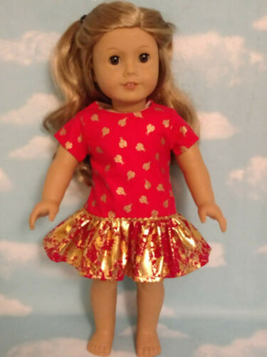 """18/"""" Doll Dress fits 18 inch American Girl Doll Clothes 63bc"""