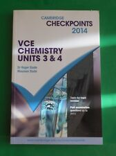 Cambridge 2014 Chemistry   VCE Unit 3 & 4  Past Examination Questions up to 2013