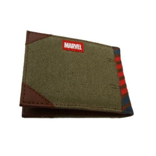 Genuine Marvel Comics Bi-Fold Wallet Avengers GUERRA CIVILE Iron Man-Regalo Inscatolato