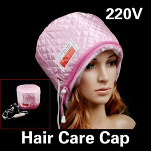 2-Level-Temperature-Control-Electric-Thermal-Beauty-Steamer-SPA-Hair-Care-Cap