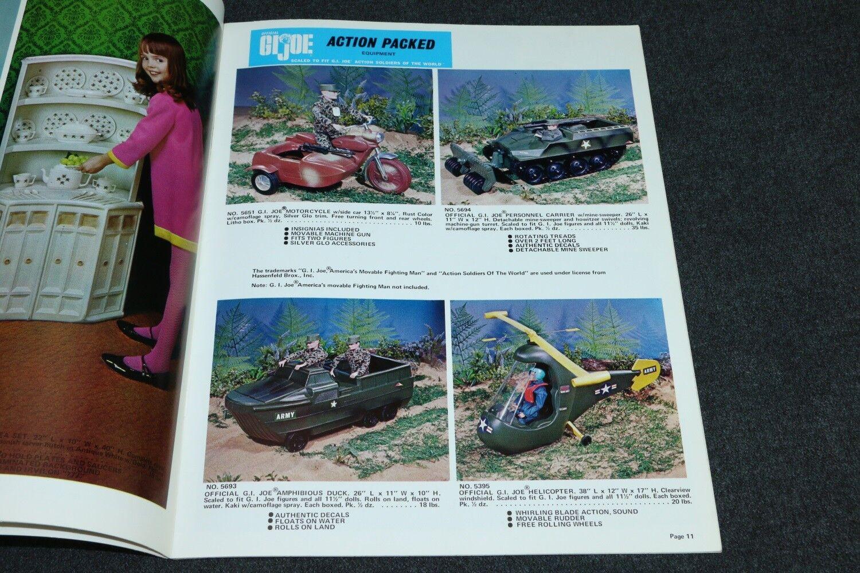 Catálogo De Distribuidor Irwin Juguetes 1968 1969 Gi Joe Sotw Hasbro Oriignal