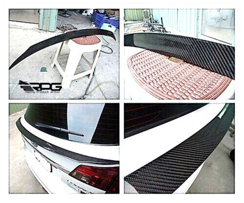 RPG JDM Carbon Fiber Trunk Mid Spoiler Wing for 09-13 Subaru Legacy BR9 OUTBACK