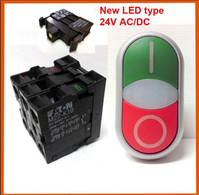 Eaton M22-LEDC-G Light Unit 12-30VAC