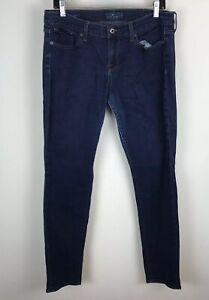 Lucky-Brand-Sz-14-32-Charlie-Skinny-Dark-Wash-Blue-Jeans