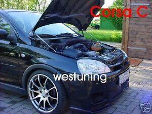 Motor-Haubenlifter-Opel-Corsa-C-inkl-GSi-Paar-Hoodlift-Motorhaubenlift-WES