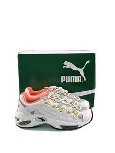 scarpe puma pelle bianca