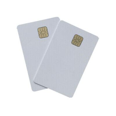 10pcs Csf Blank White Pvc Karten Inkjet Ic Karte Id Mit Sle 4428