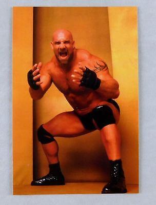 Bill Goldberg Official WCW 4x6 Photo Card New Wrestler Wrestling wwe tna indy 6