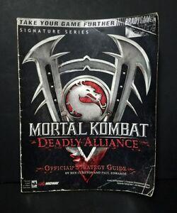 Mortal Kombat: Deadly Alliance: Official Strategy Guide   eBay