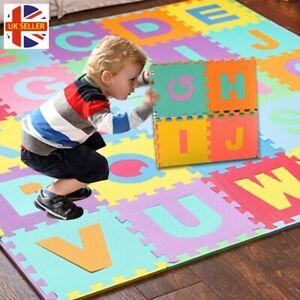 9 Ou 36 Pièces Alphabet Et Chiffres En Mousse Puzzle Tapis De Jeu Enfants Floor Puzzle Jouet-afficher Le Titre D'origine