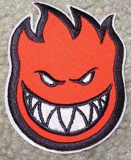 "SPITFIRE Red Skate Sticker Patch 3 X 2.25"" great 4 skateboards helmets decal"