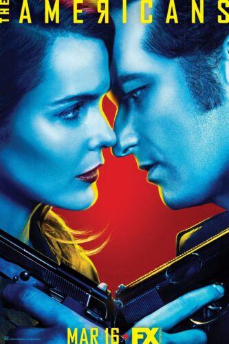 Matthew Rhys v1 - Keri Russell The Americans Season 4 TV Poster 24x36