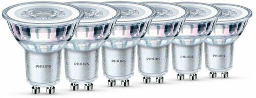 warmweiß GU10 6er Pack Philips LEDclassic Lampe 4,6 W ersetzt 50W 355 Lumen
