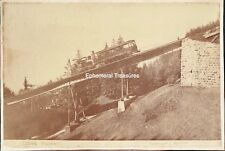 Rigi Mountain Railway, Switzerland - C.1880 Giorgio Sommer Albumen Photograph