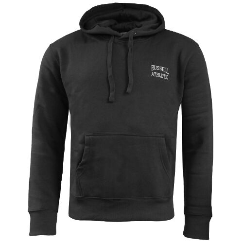 Russell Athletic Small Logo Hooded Mens Pullover Jumper Hoodie FW16PON037 WH