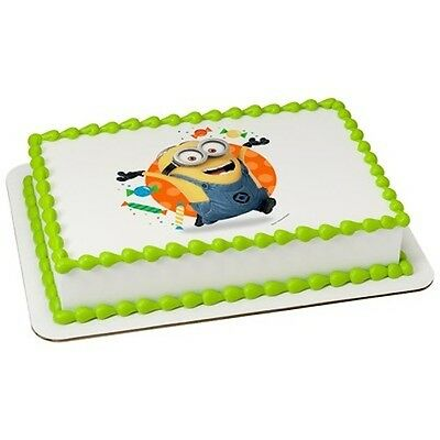 Minions Hula Despicable Me 3 Three figurine cake decoration Decoset cake topper