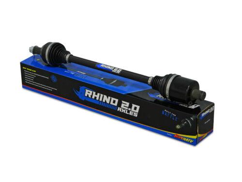 REAR SuperATV Rhino 2.0 Stock Length Axle for Polaris Ranger XP 900 Crew