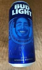 Special Edition 2019 Post Malone Bud Light 16oz Beer Can - Hollywood?s Bleeding