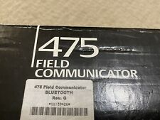 Emerson Model 475 Hart Field Communicator With Bluetooth Never Usednewopen Box