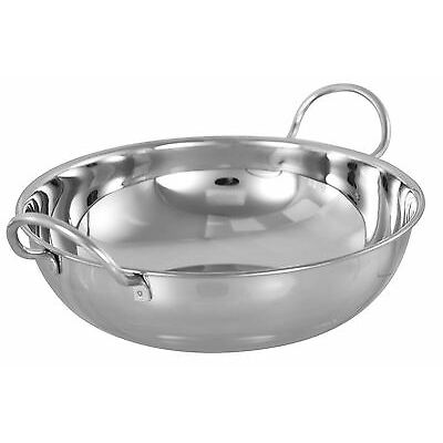 Stainless Steel Balti Dish, 16-30cm, Indian Cuisine, Curries, Dining, Restaurant
