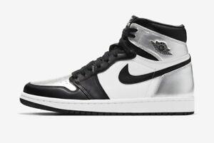 Air Jordan 1 High Silver Toe Womens 16.5 Mens 15