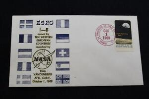 Espacio-Cubierta-1969-Mano-Cancelado-ESRO-1B-Europeo-Research-Organization-4188