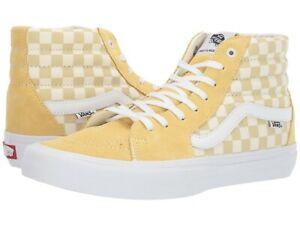 Vans SK8 Hi Pro Checkerboard Pale