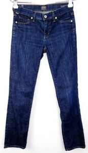 Citizens-of-Humanity-Women-039-s-Elson-Mid-Rise-Straight-Leg-Jeans-Blue-Size-25
