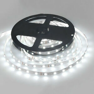 wei led strip licht streifen 5m band leiste mit 300 led flexibler streifen 12v ebay. Black Bedroom Furniture Sets. Home Design Ideas