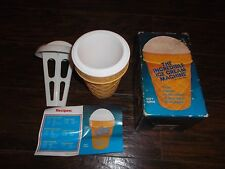 Vintage Barry and Stacey Incredible Ice Cream Machine In Orig. box 1986