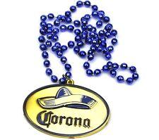 Corona Bier USA Halskette Sombrero Party Medaille Perlenkette Kette Partykette