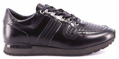 Men's Shoes Sneakers BIKKEMBERGS BKE108232 Mant 380 Leather Brushed Black New   eBay
