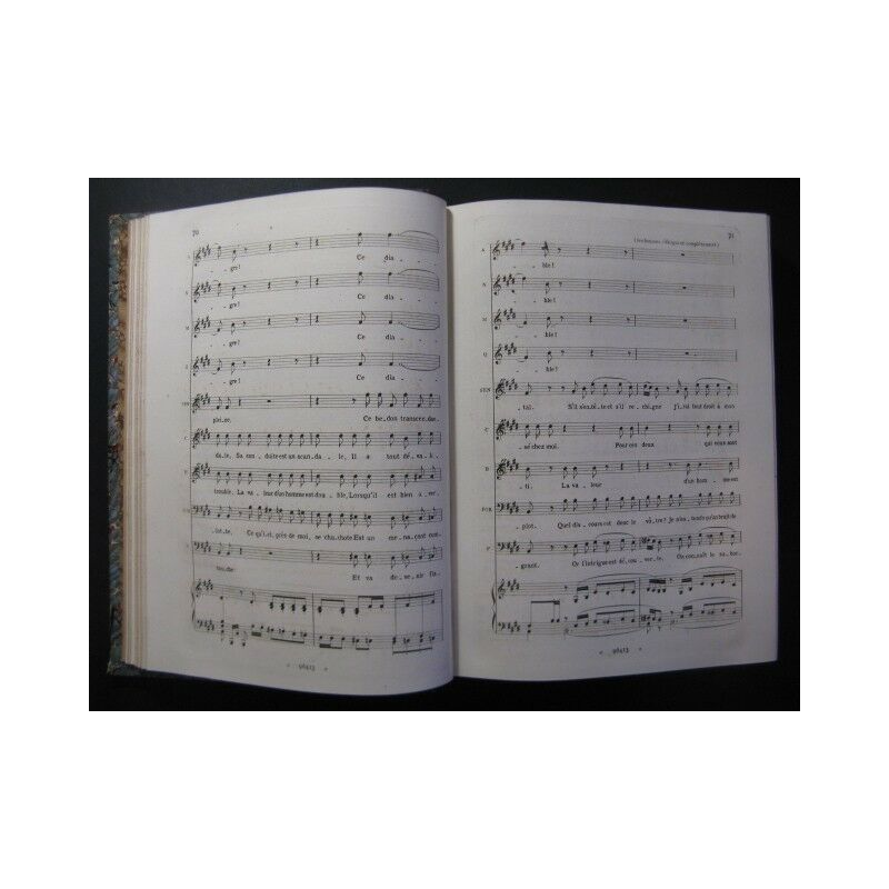 VERDI VERDI VERDI Giuseppe Falstaff Opera Chant Piano 1894 partition sheet music score 1fd2d1